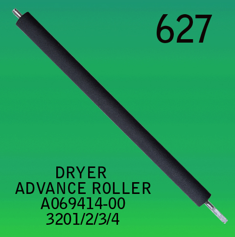 A069414-00-DRYER ADVANCE ROLLER-FOR-NORITSU-3201-3202-3203-3204