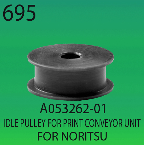 A053262-01-IDLE PULLEY FOR PRINT CONVEYOUR UNIT -FOR-NORITSU